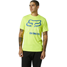 Fox Hightail SS Tech Tee Men, fluorescent yellow